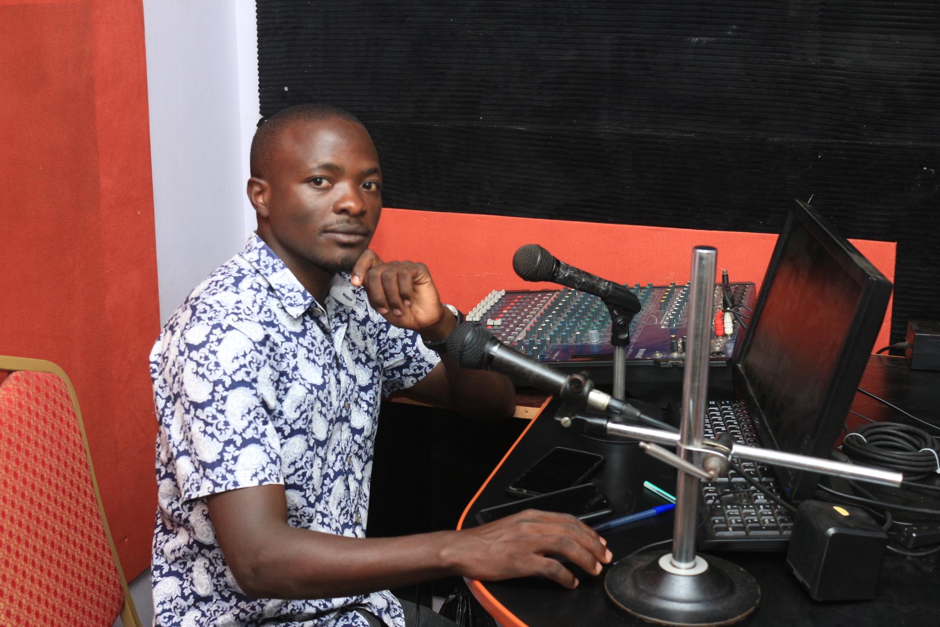 Ssebuwufu Matia News Anchor/Reporter