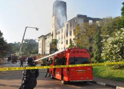 MAK FIRE:Two arrested as probe into Makerere fire...